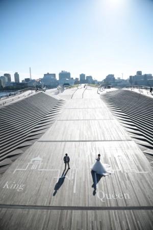 横浜の風を感じて...大さん橋