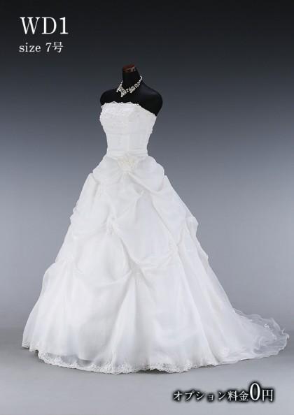 松戸店/白ドレス WD001
