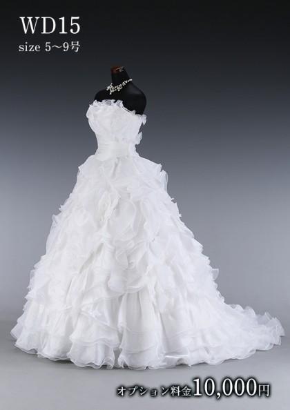 松戸店/白ドレス WD015