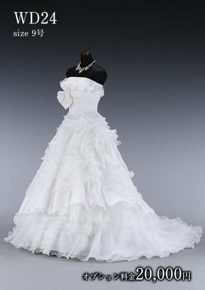 松戸店/白ドレス WD024