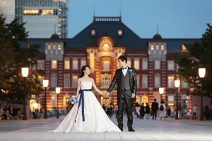 歴史と風格が感じられる『東京駅』丸の内駅舎