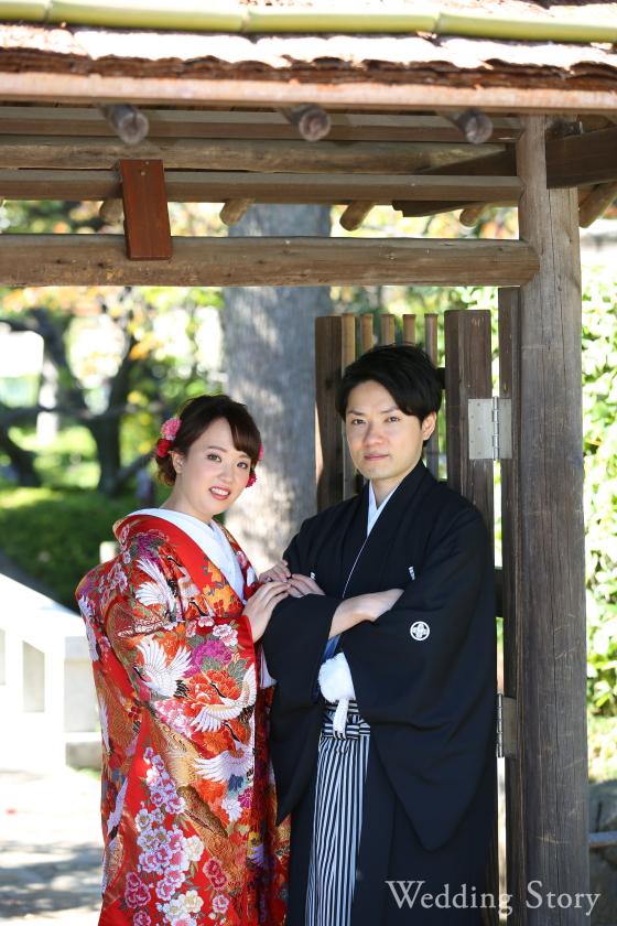 Wedding Story松戸店の和装ロケーション2着プランです。
