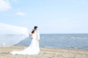 広い空と砂浜...葛西海浜公園
