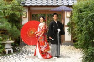 Wedding Story松戸店の和装スタジオプランの撮影です。