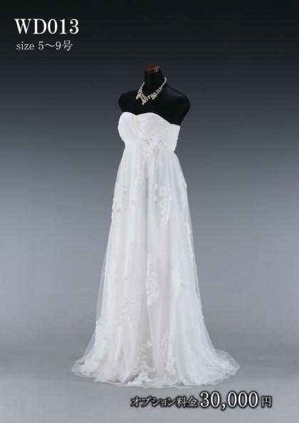 松戸店/白ドレス WD013