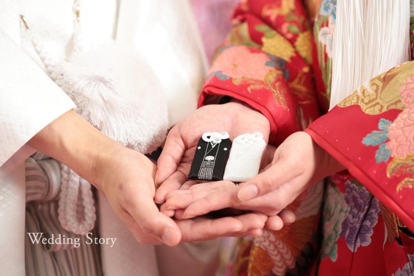 Wedding Story新東京店の和装スタジオプランで前撮りされた新郎・新婦様
