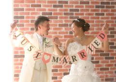 Wedding Story松戸店の和洋装スタジオプランの撮影です。