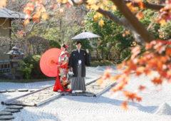 Wedding Story松戸店の和洋装ロケーションプランの撮影です。