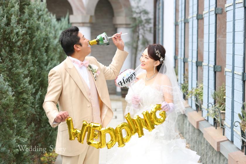 Wedding Story松戸店の和洋装ロケーションプランです。