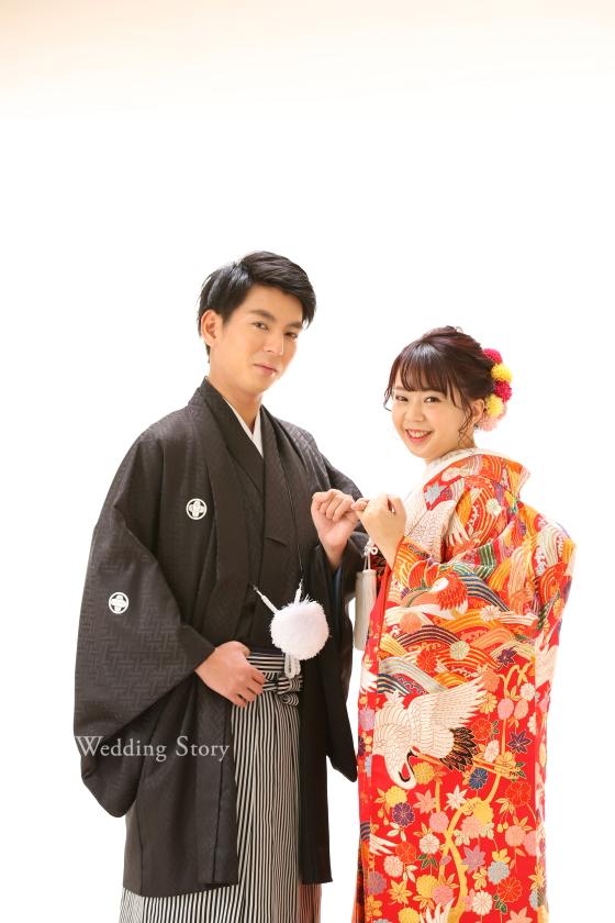 WeddingWedding Story松戸店の和洋装スタジオプランです。 Story松戸店の洋装スタジオプランです。