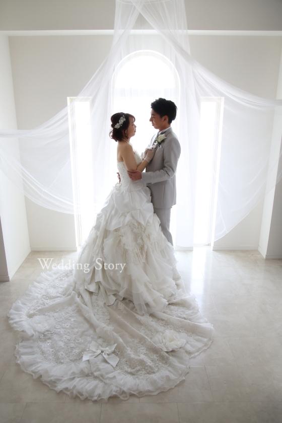 Wedding StoWedding Story松戸店の和洋装スタジオプランです。ry松戸店の洋装スタジオプランです。