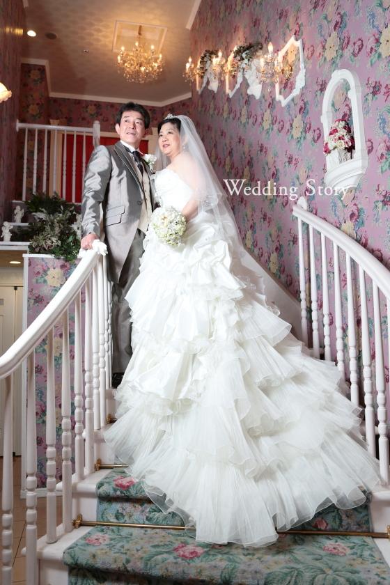 Wedding Story新東京店で洋装スタジオプランの撮影をされた新郎・新婦様