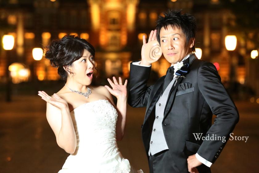 Wedding Story新東京店で和洋装ロケーションプランの撮影をされた新郎・新婦様