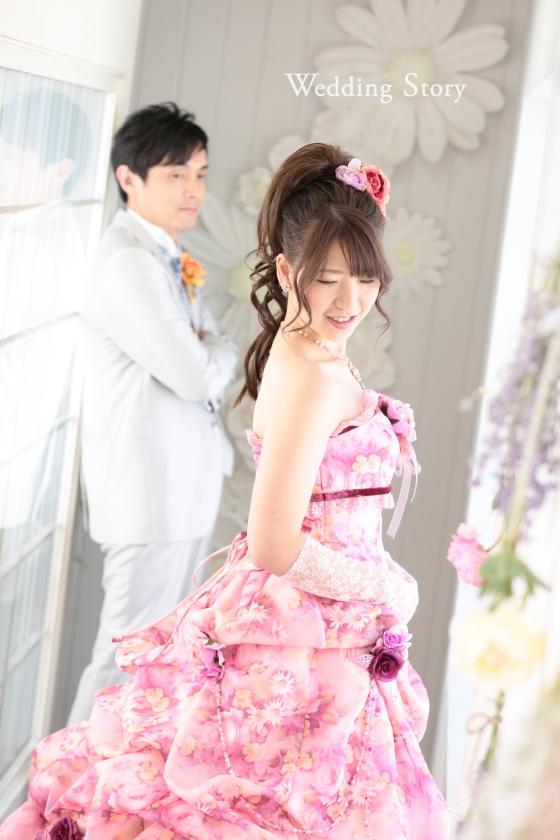 Wedding Story新東京店で和洋装スタジオプランの撮影をされた新郎・新婦様
