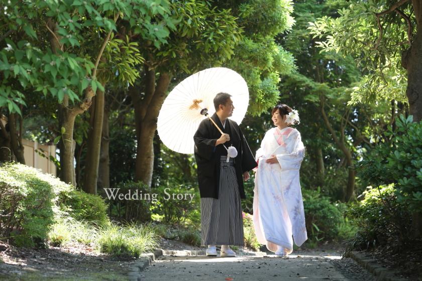和装ロケーション 日本庭園