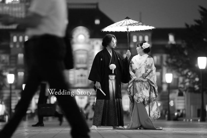 Wedding Story市川店で和装ロケーションプランの撮影をされた新郎・新婦様