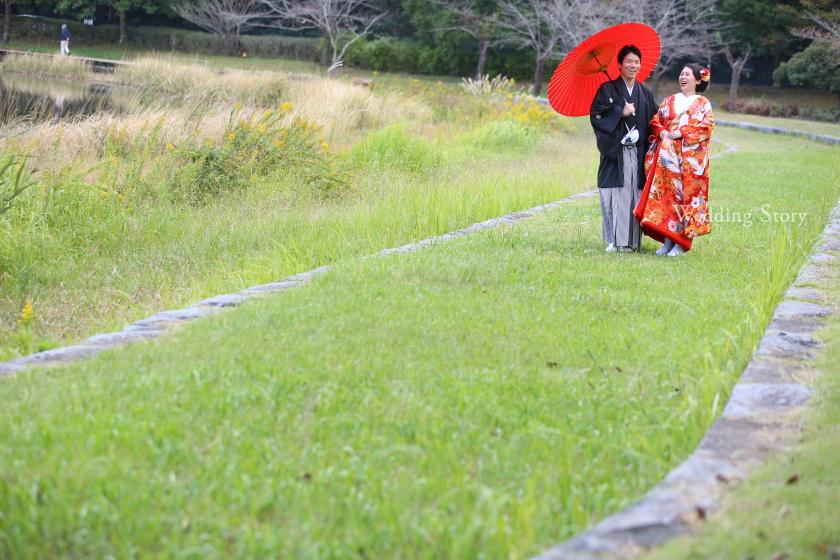 Wedding Story松戸店の和装ロケーションオプランです。