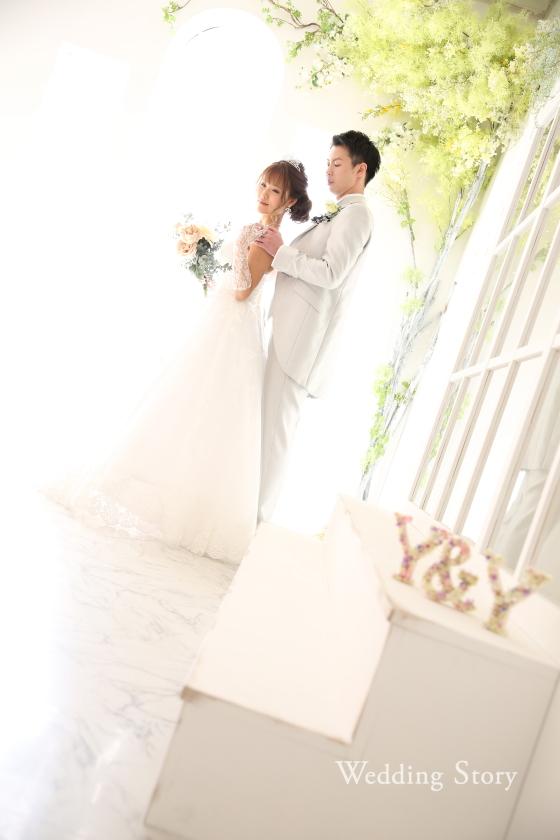 Wedding Story市川店で和洋装スタジオプランの撮影をされた新郎・新婦様